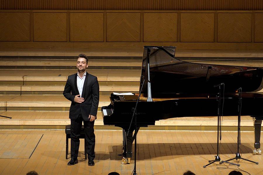 COOLsound 2018 - București, Sala Radio • Cristian Sandrin - pian